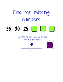 Mysterious Number Patterns