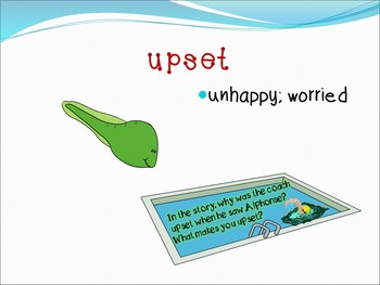 Mysterious Tadpole Interactive Vocabulary Power Point