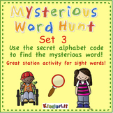 Sight Word Hunt - Set 3