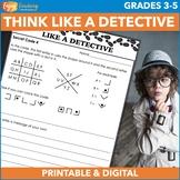 Mystery Unit Activities - Secret Codes, Fingerprints, Invi