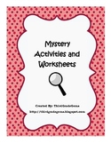 Mystery Activities and Worksheets