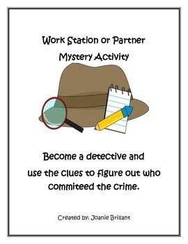 Mystery Activity