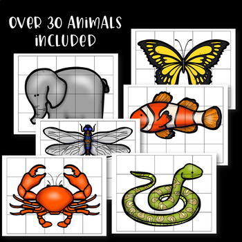 Hidden Animal Pictures for Hundreds Chart ~ Mystery