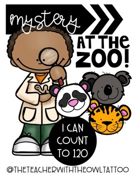 Mystery At The Zoo (Counting to 120)