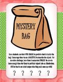 Mystery Bag - 5 Senses, Adjectives, & Similes!