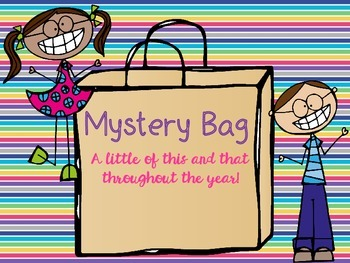 Mystery Bag: A Little of This and That