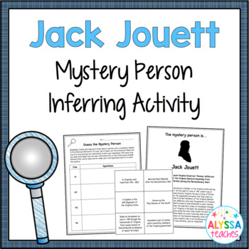 Mystery Bag Activity: Jack Jouett (VS.5c)