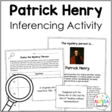 Patrick Henry Mystery Person Activity