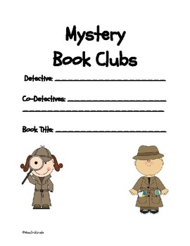 Mystery Book Club Packet