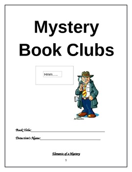 Mystery Book Club Reading Responses Part 1