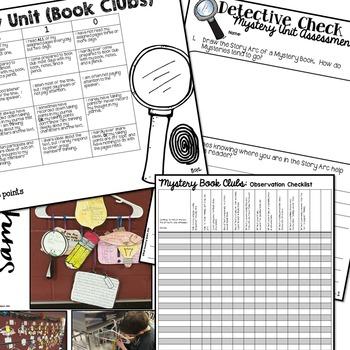 Mystery Book Club Unit