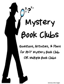 Mystery Book Clubs for ANY Mystery Novel