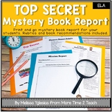 Mystery Book Report: TOP SECRET