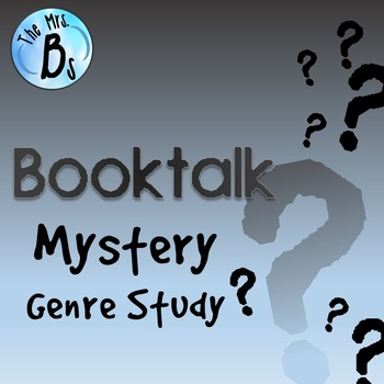 Mystery Booktalk - Independent Novel and Genre Study {CCSS Aligned}