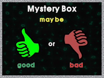 Mystery Box Game (Imperative Sentence)
