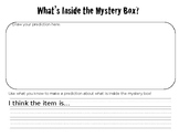 Mystery Box-Clue Cards & Recording Sheet