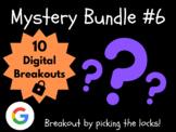 Mystery Bundle #6: 10 Digital Breakouts (Back to School, Early Finishers)