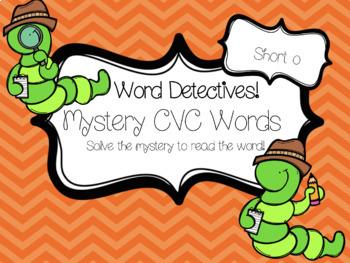 Mystery CVC Word-- Bundle