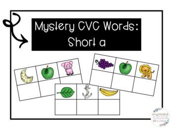 Mystery CVC Word- Short A