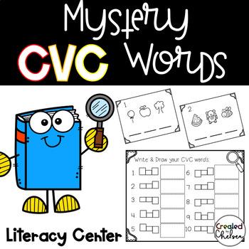 Mystery CVC Words