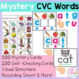 Mystery CVC Words Center