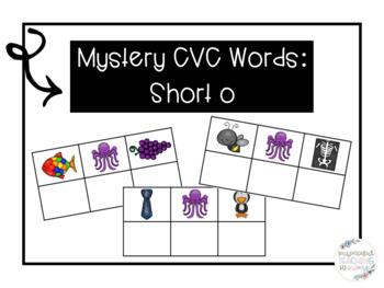 Mystery CVC Words: Short o