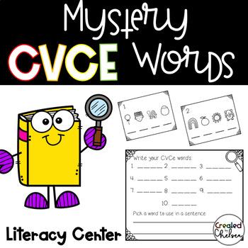 Mystery CVCe Words