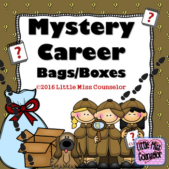 Mystery Career Bags/Boxes Editable PowerPoint