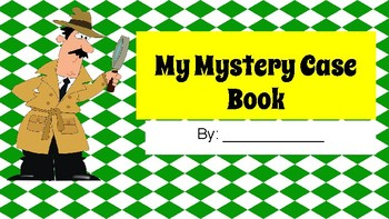 Mystery Case Book PDF or DIGITAL Journal