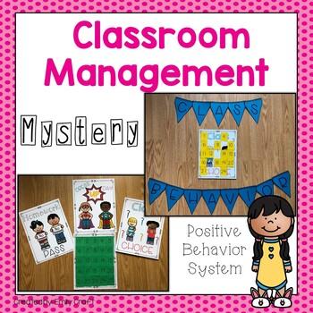 Mystery Classroom Management Fun (Positive Behavior System)