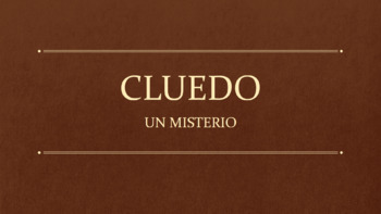 Mystery: Classroom Vocabulary and Reading Comprehension (Spanish 1-2-3)