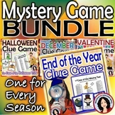 Mystery Game BUNDLE Halloween December Valentine End of the Year