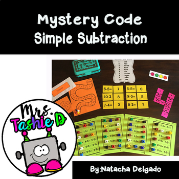 Mystery Code (Simple Subtraction)