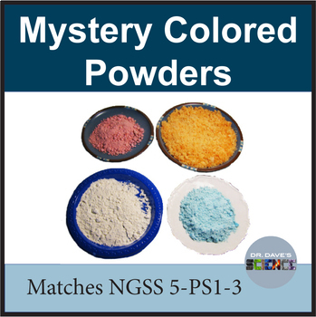Mystery Colored Powders