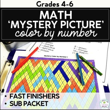 Mystery Color by Number