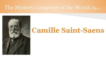 Mystery Composer of the Month - Camille Saint-Saens