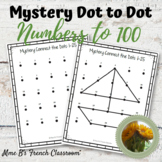 Mystery Connect the dots Dot to Dot numbers to 100 any language