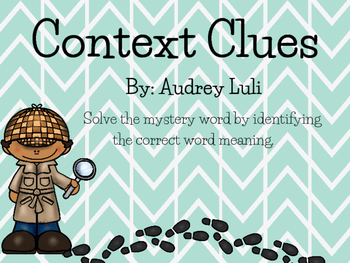 Mystery Context Clues