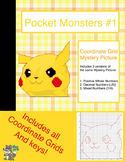 Mystery Picture Coordinate Graphs: Pocket Monster #1