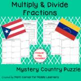 Mystery Country Math Puzzle