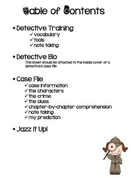 Mystery Detective Reading Kit
