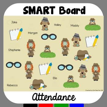 SMART Board Attendance: Detectives