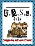 """Mystery Detective Theme Binder Covers """"CASE File"""""""