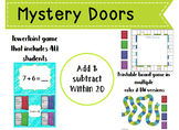 Mystery Doors PowerPoint Game: Add & Subtract through 20- 2.OA.2