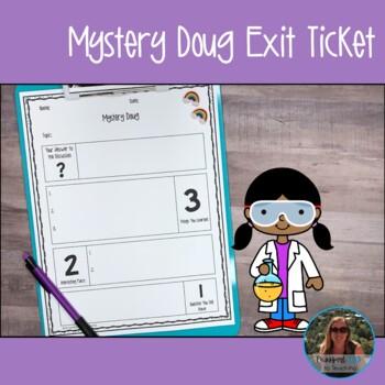 Mystery Doug Exit Ticket