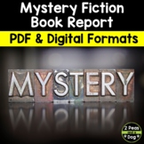 Mystery Fiction Book Report