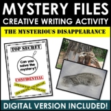 Mystery Files #1: The Mysterious Disappearance