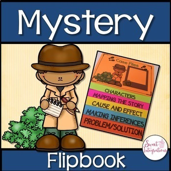 MYSTERY FLIPBOOK With Elements of a Mystery Posters