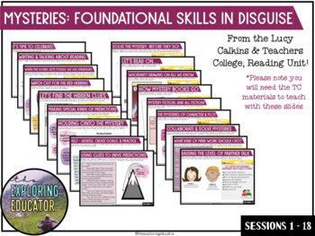 Mystery: Foundational Skills in Disguise Google Slides (*Distance Learning)