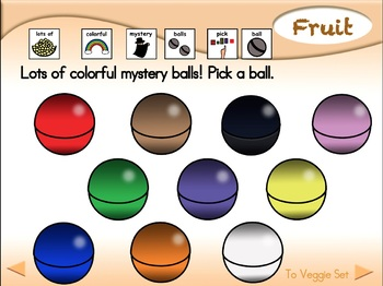 Mystery Fruit & Veggies - Animated Step-by-Step Game - PCS